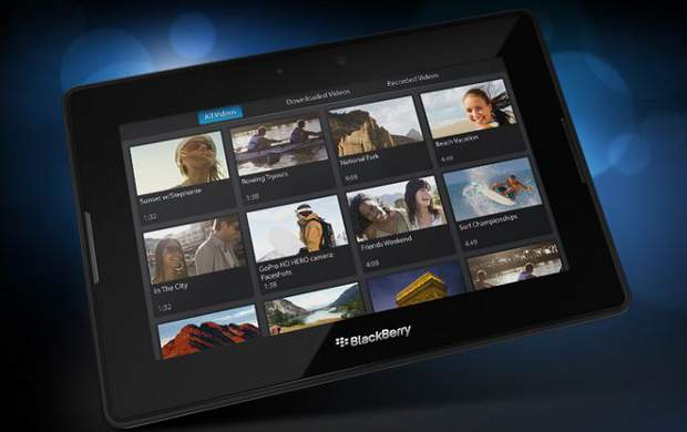 How to take screenshots on BlackBerry PlayBook