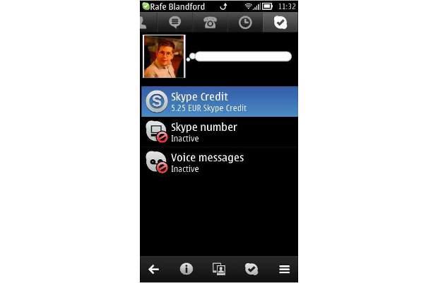 Skype app updated to support Nokia Belle