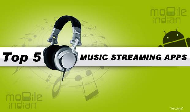 Top 5: Music streaming apps for India