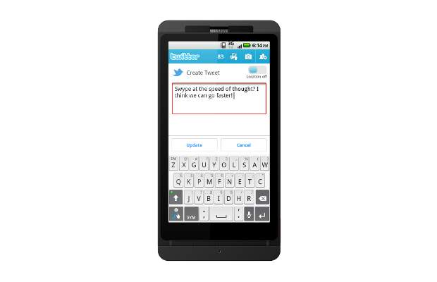 Swype for Ice Cream Sandwich likely to be launched soon