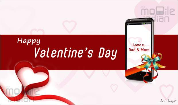 Top 5 Mobile phones for parents on Valentine's Day