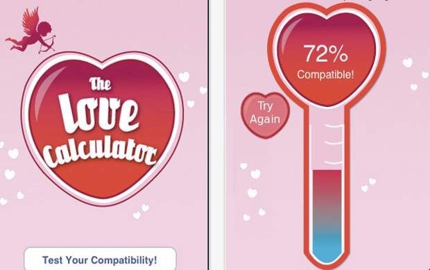 Valentine's Day: Have you calculated your love?
