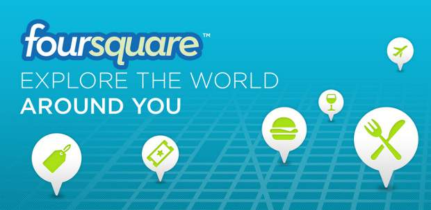 Foursquare for Android now supports NFC feature