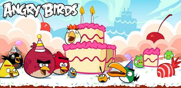 Angry Birds turns 2, offers new stages