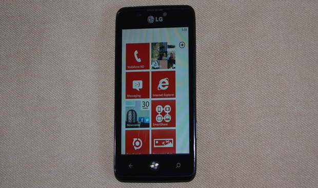 Image of LG Miracle with Windows Phone leaked