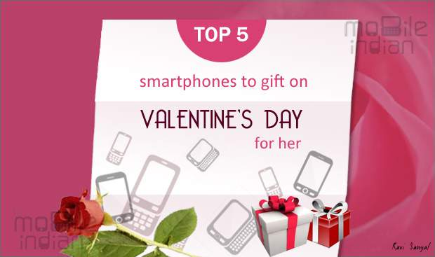 Top 5 smartphones on Valentines' Day For Her