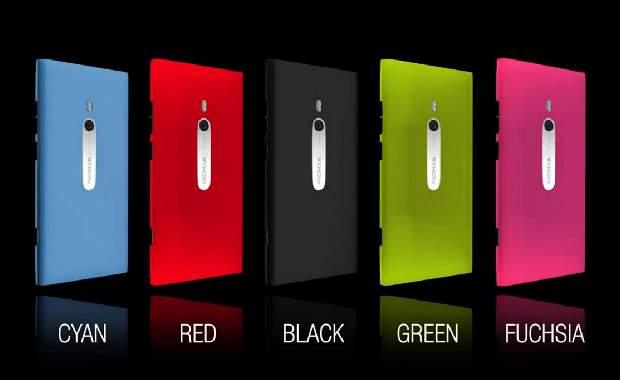 Nokia Lumia 800 to sport new colors?