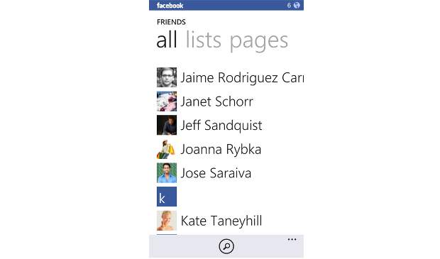 Facebook app for Windows Phone gets major update