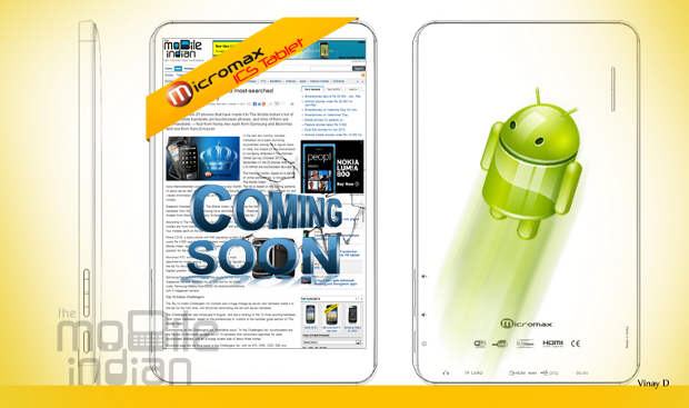 Micromax to launch Android ICS tablet in two weeks