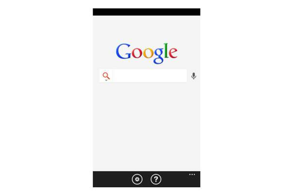 Windows Phone 7.5 gets a new Google search app