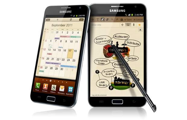 Samsung Galaxy Note ICS update postponed