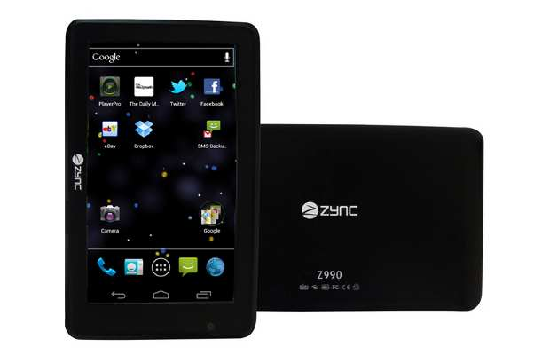 Hands on Zync Z990 Tablet
