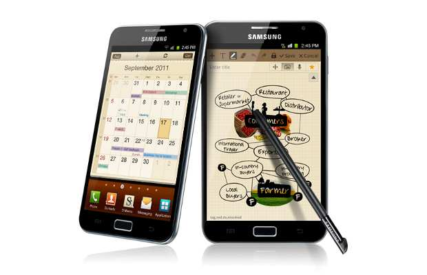 Samsung Galaxy Note to get exclusive features with ICS update