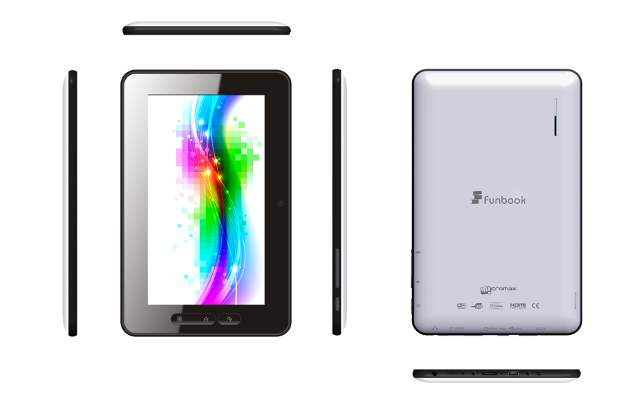 Hands on Micromax Tablet