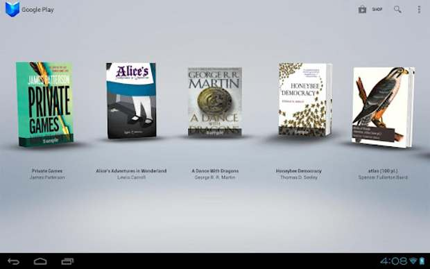 Play Books gets a facelift with 3D animations