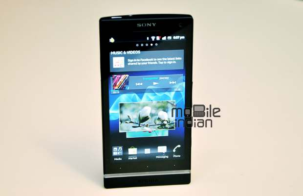 First look Sony Xperia S