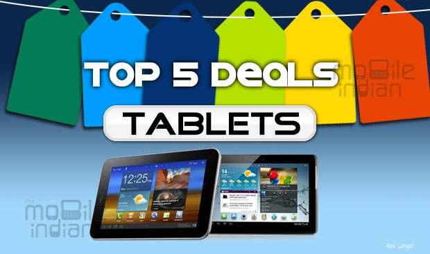 Top 5 online tablet deals of the week