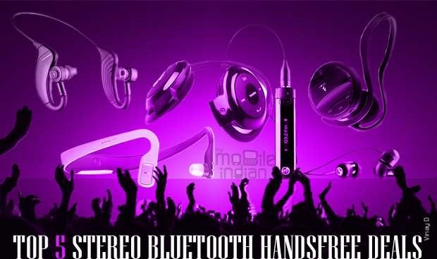 Top 5 Stereo Bluetooth handsfree deals