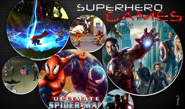 Superhero games for smartphones