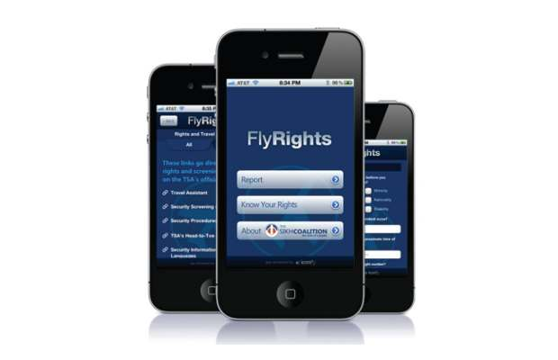An app to report racial profiling at US airport