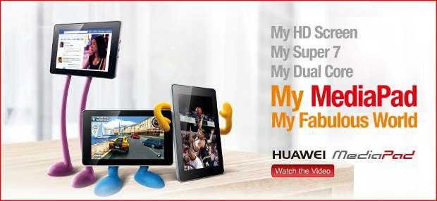 Huawei announces ICS upgrade for MediaPad
