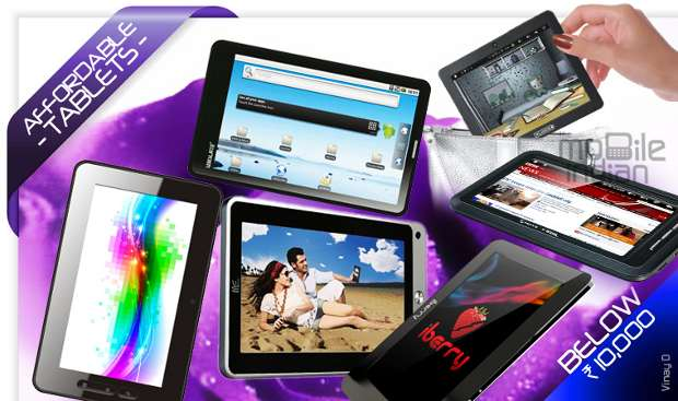Low cost tablets below Rs 10,000 in India