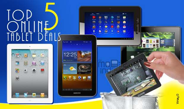 Top 5 online tablet deals of the week (May)