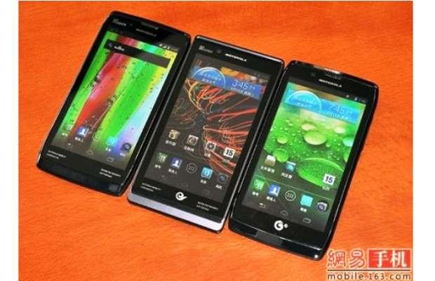 Motorola releases three RAZR phone with Android 4.0