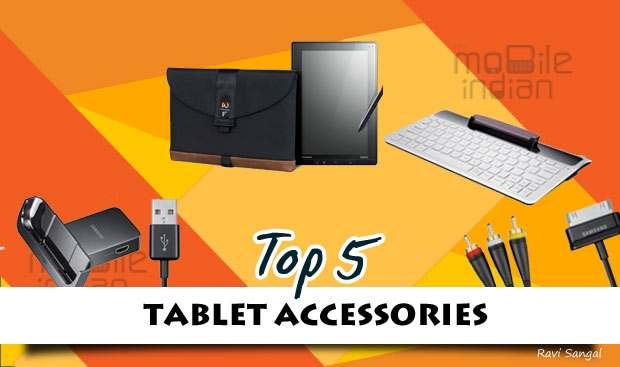 Top 5 Online tablet accessory deals