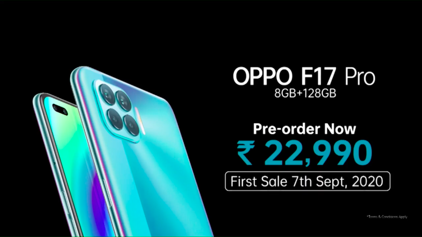 Oppo F17, F17 Pro and Enco W51 launched