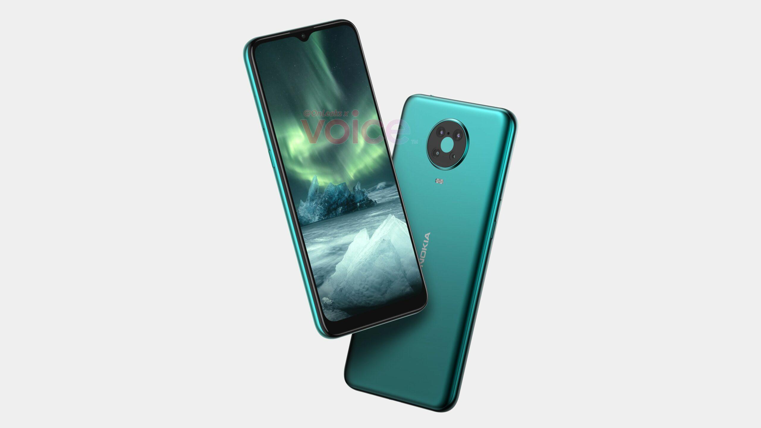 Nokia 6.3/6.4 renders leaked online revealing design
