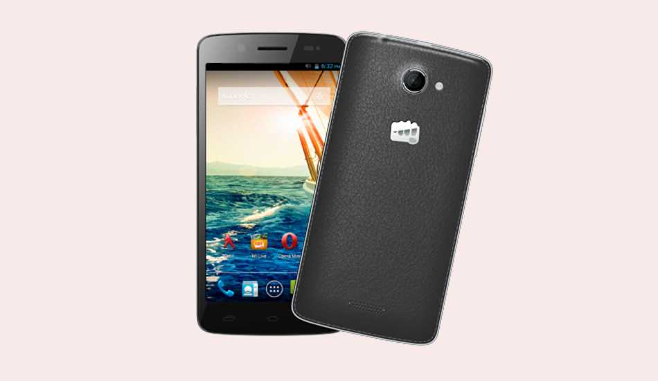 Micromax Canvas Elanza  2 A121 with HD display, quad-core processor to arrive soon