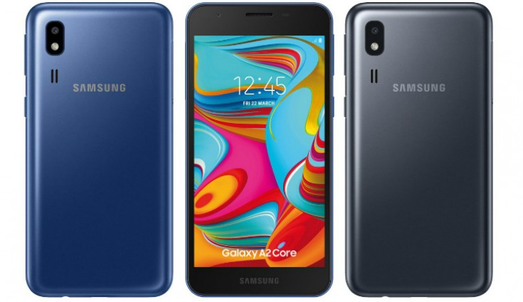 Samsung Galaxy A2 Core Android Go phone specifications leaked