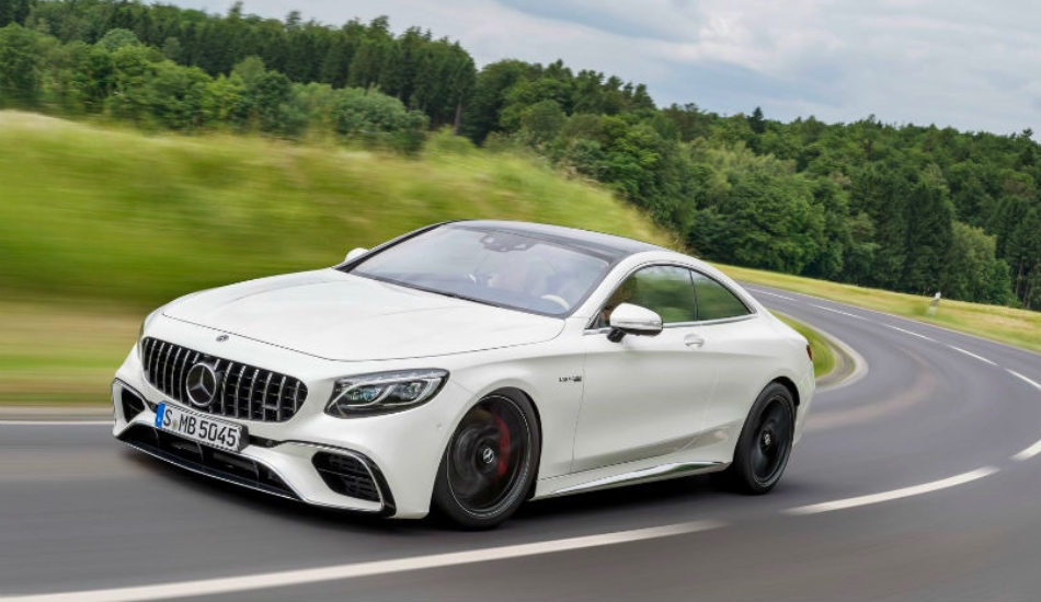 2018 Mercedes-AMG S 63 Coupe launched in India at Rs 2.55 crore