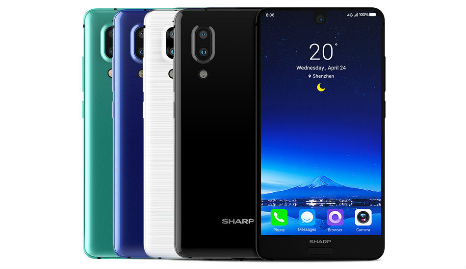 Sharp Aquos S2 with 5.5-inch Full HD+ display, dual rear cameras announced