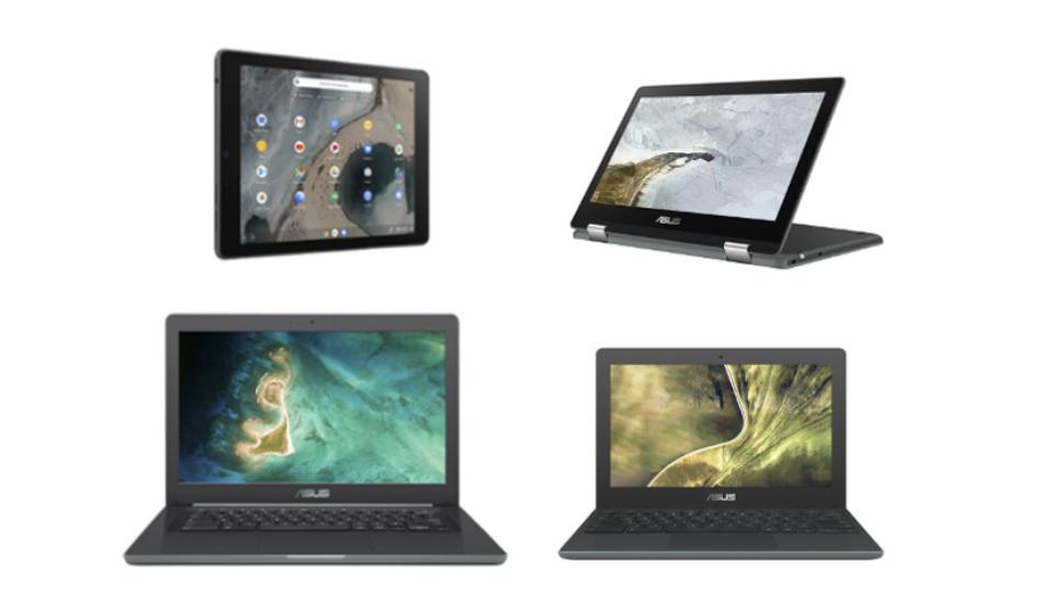 Asus Chromebook C204, Flip C214, C403, Tablet CT100 announced