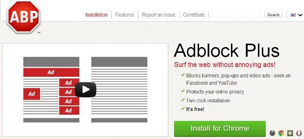 Adblock Plus removed from Google Play