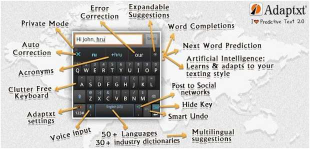 Keypoint offers user customisable keyboard for Android users
