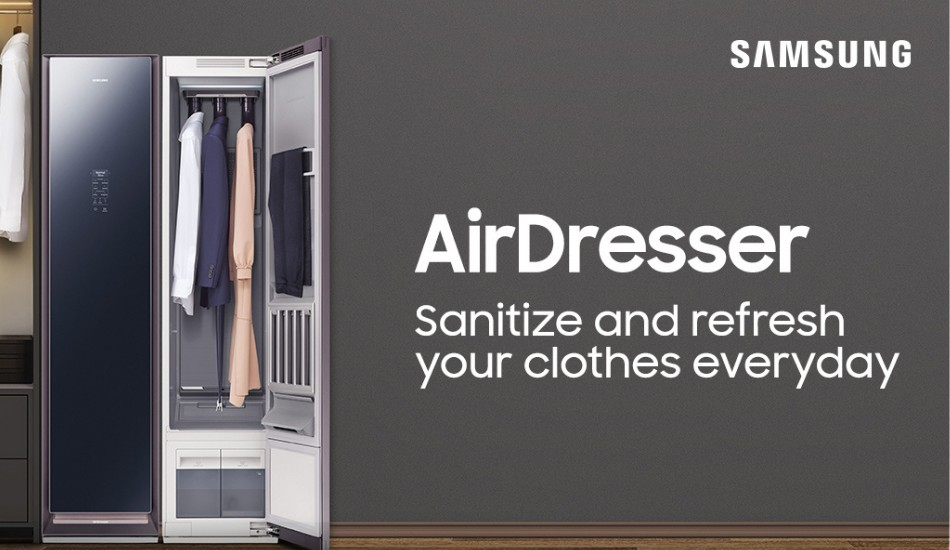 Samsung launches AirDresser for daily cleaning and sanitization of clothes