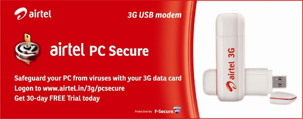 Get free anti-virus with Airtel dongle