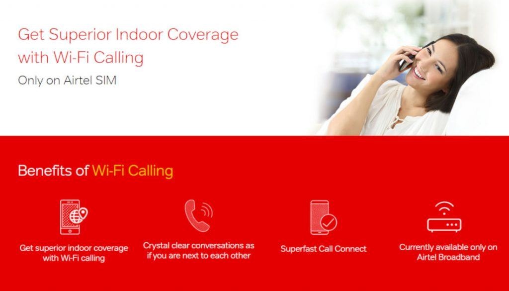Airtel updates list of smartphones supporting Airtel Wi-Fi Calling