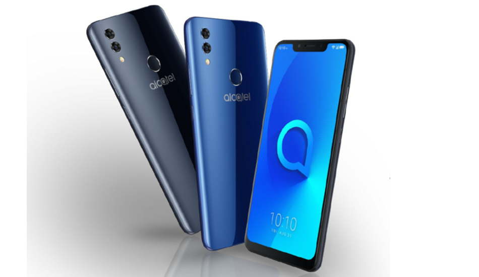 Alcatel 5V launched with notched display and dual rear cameras