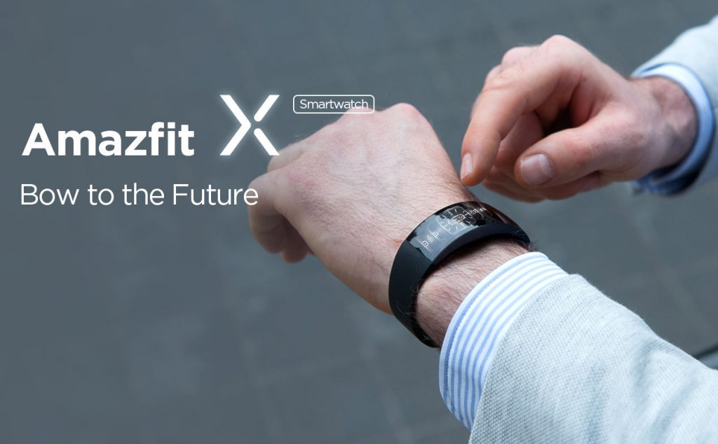 Amazfit X smartwatch announced with 2.07-inch curved AMOLED display and 7-day battery life