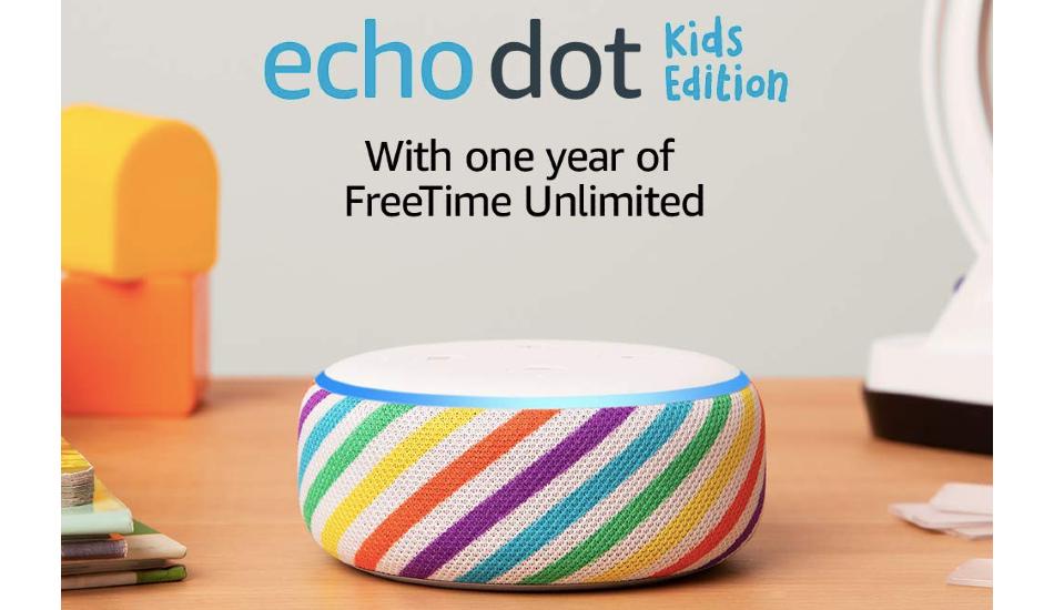Amazon introduces Echo Dot Kids Edition 2019