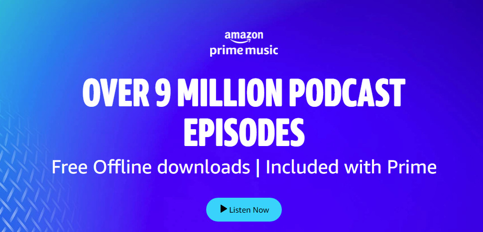 Amazon Prime Music launches Podcasts in India