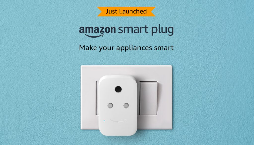 Amazon Smart Plug with Alexa Support launched in India for Rs 1999