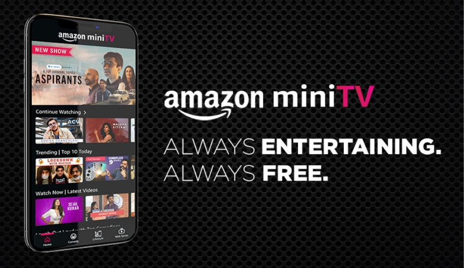 Amazon MiniTV in-app streaming service launched in India, to be free of cost