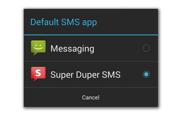 Google Android 4.4 KitKat promises better SMS experience