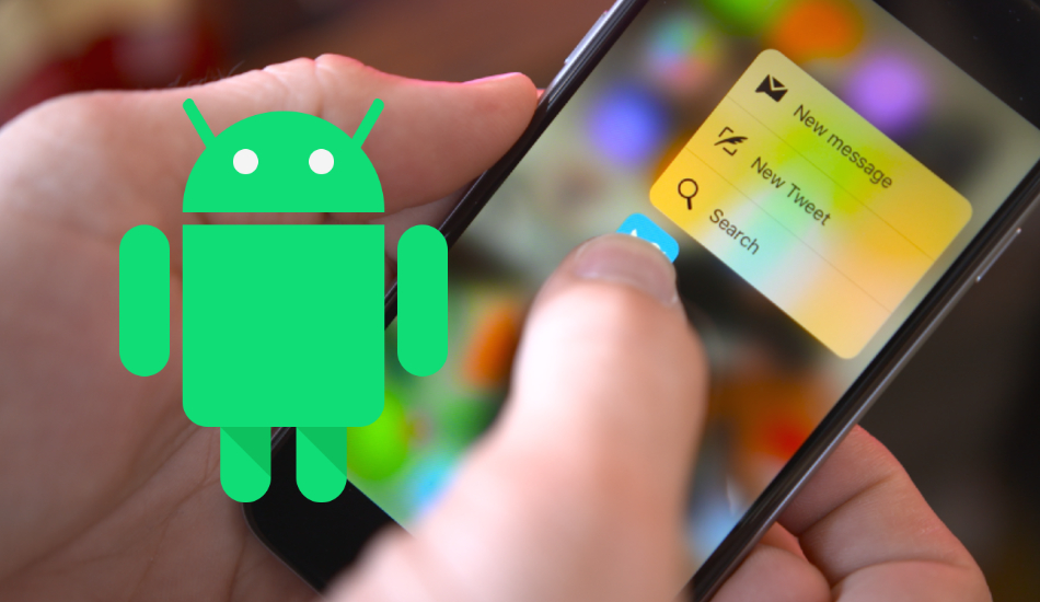 Google will bring iOS-like 3D Touch through Android Q
