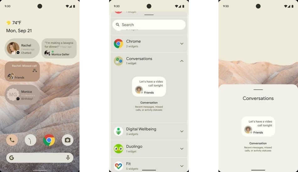Android 12 leaks in screenshots, should come with new UI and privacy features